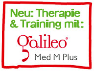 NEU: Therapie & Training mit: galileo Med M Plus